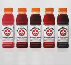"""If you've ever wanted to sip on an Originals-themed drink, then you're in luck because Joulebody has teamed up with The CW and Gilt City to bring you the tastiest juice cleanse yet: """"The Blood Cleanse. Cleanse Me, Juice Cleanse, Hot Sauce Bottles, Drink Bottles, Liver Detox Diet, Pseudo Science, Morning Ritual, The Cw, Packaging Design Inspiration"""