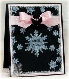 Snowflakes by suzannejdean - Cards and Paper Crafts at Splitcoaststampers