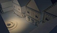 Ruelle 3D on Behance
