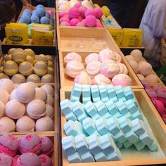 LUSH cosmetic soap bar. I LOVE this place.