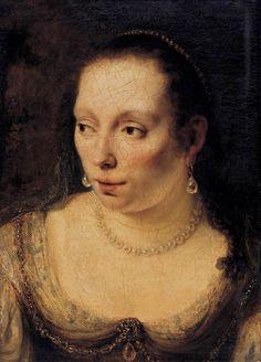 FERDINAND BOL, PORTRAIT OF A LADY, 1650-54