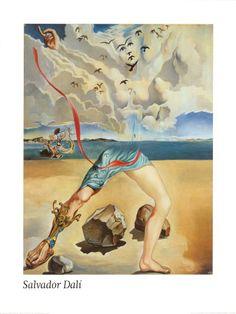 Salvador dali clouds , Prints and Posters at Art.com