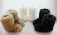 Eskimo Fur Boots $99