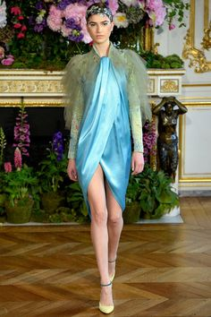 Alexis Mabille | Fall/Winter 2013 Couture Collection | Modeled by Marcele Dal Cortivo | July 1, 2013; Paris, France | Style.com