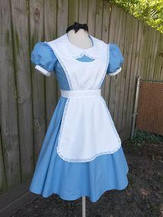 Adult Alice in Wonderland costume for Halloween by MissEmCostumes