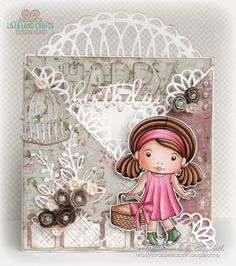 La-La Land Crafts Inspiration and Tutorial Blog: Tutorial Thursday: Criss Cross card and coloring folds
