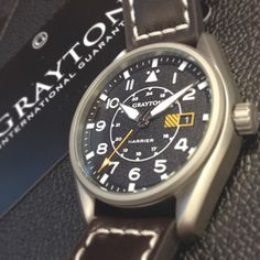 Grayton Aeronautical Timepieces for men! Grab yours at WatchWarehouse.co.uk