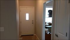 Front door in The Kenny Jr. #home