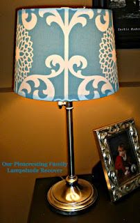 Lampshade re-do