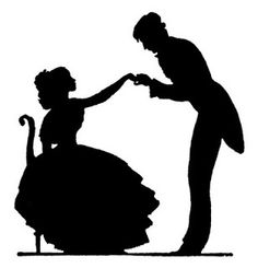 Shall We Dance Silhouette