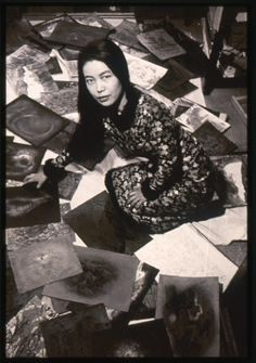 portrait of yayoi kusama in her room in her parents' home in matsumoto, c.1957