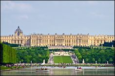 Chateau de Versailles, Versailles, France - Current configuration built starting in 1678 under Louis XIV, King of France