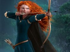 Brave! .......Scotland  (I love this movie and I have red hair just like she does!!!)