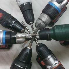 Akkuschrauber, Akku-Bohrschrauber und andere Bauformen