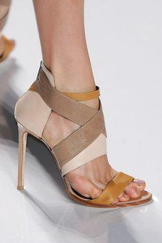 J. Mendel at New York Fashion Week | Spring 2012 | Photo: Imaxtree via Livingly.com