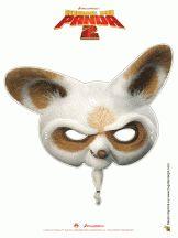 masque kung fu panda 2