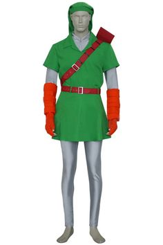 Handsome The Legend of Zelda Cosplay Link Costume Cheap Sell