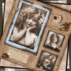 Vintage Sepia frame