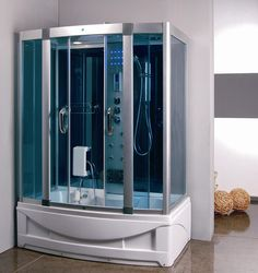 Steam Shower Room With deep Whirlpool Tub. 9004 - Image 1