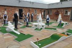 Roof Terrace Design, Golf Wedding, Crazy Golf, Miniature Golf, Carnival Games, Wedding Entertainment, Beach Chairs, Golf Courses, Entertaining