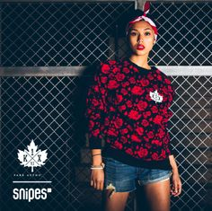 """Nicht nur für die Jungs! Das K1X Sweatshirt """"Chicago"""" gibt es in den Größen S-XXL für 64,99 Euro unter www.snipes.com/K1X   #snipes #K1X #streetwear #byballerforballer"""