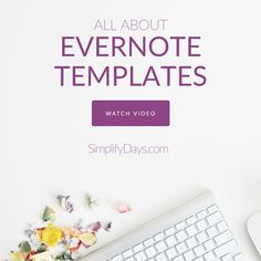 Have you ever heard of Evernote Templates? Learn about organizing & simplifying your life with templates + get instant access to my full FREE collection.