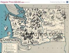 Washington Map States I Ve Visited Pinterest