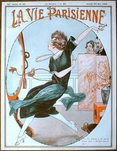 Hérouard - LVP cover - 1922 May - Charleston Dance