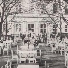 zahradní restaurace na Žofíně 1870