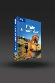 image of Chile & Easter Island in One Color