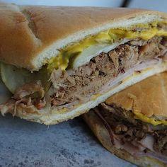 Get the Pulled Pork Cuban Sandwich Recipe by Oklahoma Joe's Bar-B-Que! It's so so good!