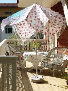 Så gjuter du snyggaste parasollfoten i betong – Hus & Hem