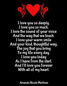 I Ll Love You Forever Quotes Poems   Love Quotes Everyday