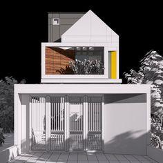 Minimalist Architecture, Facade Architecture, Residential Architecture, House Roof, Facade House, Tiny House Design, Modern House Design, Facade Design, Exterior Design