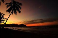 Тропический закат: вид с балкона Гранд Велас Ривьера Наярит.