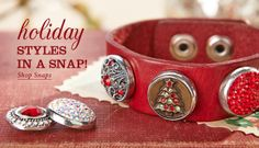 Ginger Snaps Jewelry interchangeable snaps and accessories.