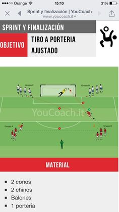Soccer Shooting Drills, Football Coaching Drills, Soccer Training Drills, Soccer Drills For Kids, Football Workouts, Soccer Practice, Youth Soccer, Goalkeeper, Soccer Training