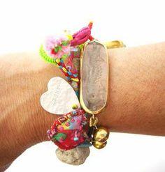 caterina Anesti Bracelets, Jewelry, Ear Rings, Gray, Bracelet, Bijoux, Jewlery, Schmuck, Jewerly