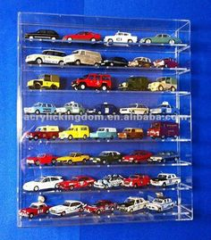 Acrylic Scale Model Cars Display Box