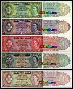 balize currency | Belize banknotes - Belize paper money catalog and Belizian currency ...