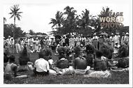 Samoa Vintage Photo Art A4 Size 210x297mm 037