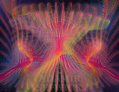 Electric Jellyfish, Adobe Illustrator & Adobe Photoshop. 3000x2500px