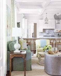 memories made here. #morningroom #kitchen #family @vanderhurd @schumacher1889 @arudindesigns