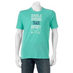 Men's Caribbean Golf & Drinks Tee, Size:
