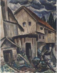 Leo Gestel - A Bavarian village