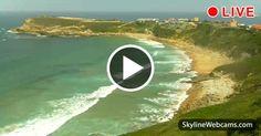 Veduta sulla spiaggia di Los Locos, dichiarata Riserva Naturale del Surf