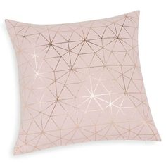 Magix - Housse de coussin en coton rose 40 x 40 cm