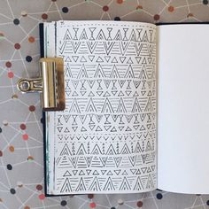 surface pattern design sketch by Two if by Sea Studios