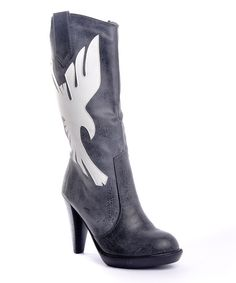 Take a look at this Black Ginevra Boot on zulily today!
