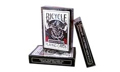 Standard Playing Card Decks - Bicycle Black Tiger Playing Cards by Ellusionist Finish -- Click on the image for additional details.